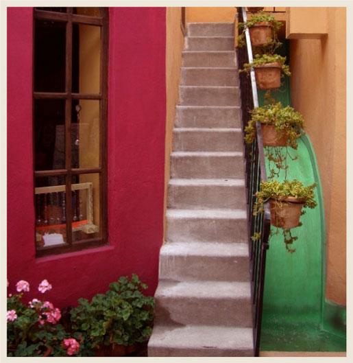Colorfully Behr Hacienda Style