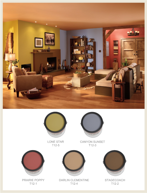behr - Southwestern Decor