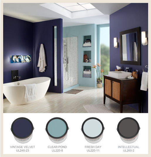 Colorfully behr bathroom color splendor high mozeypictures